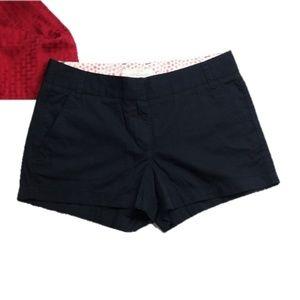 J.Crew Chino Broken-In Black Shorts Size 6